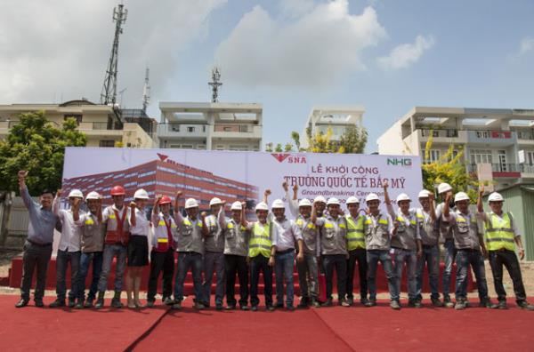 The Breaking Ceremony of Schools of North America Project (General Design & Build contractor)